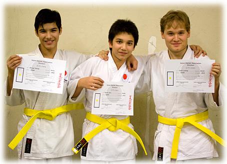 gradering judo gult bälte